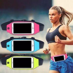 Unisex Sport Waist Bag- Mobile Phone Holder